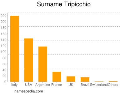Surname Tripicchio