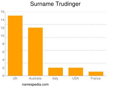 Surname Trudinger