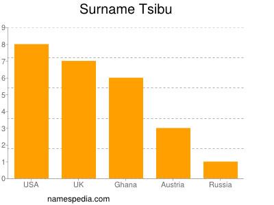 Surname Tsibu