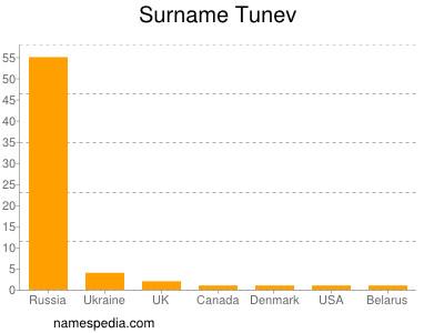 Surname Tunev