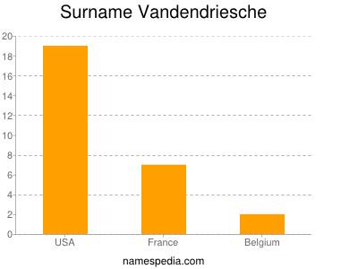 Surname Vandendriesche