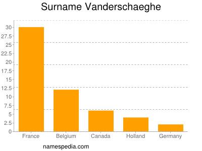 Surname Vanderschaeghe