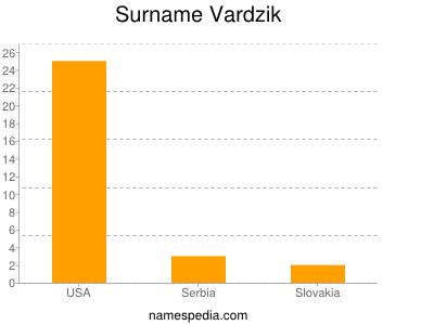 Surname Vardzik