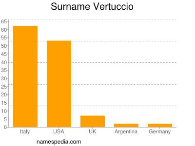 Surname Vertuccio