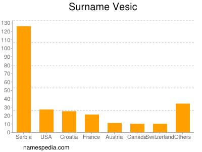 Surname Vesic