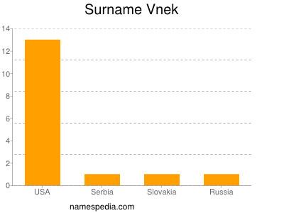 Surname Vnek