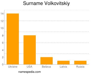 Surname Volkovitskiy