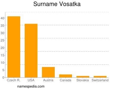 Surname Vosatka