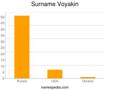 Surname Voyakin