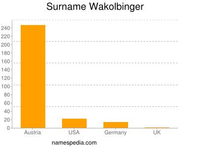 Surname Wakolbinger
