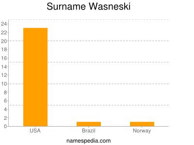 Surname Wasneski