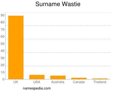 Surname Wastie