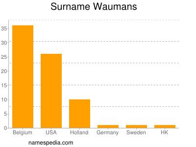 Surname Waumans
