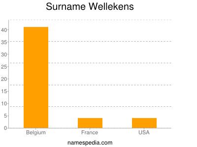 Surname Wellekens