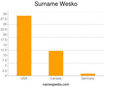 Surname Wesko
