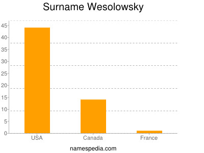 Surname Wesolowsky