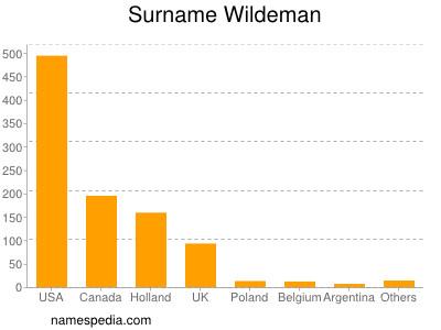 Surname Wildeman