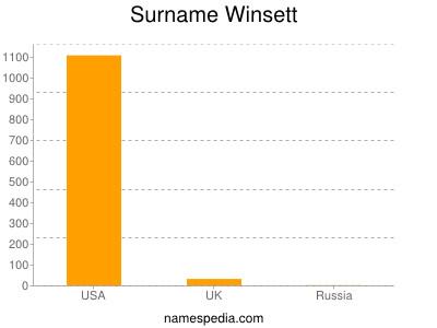 Familiennamen Winsett