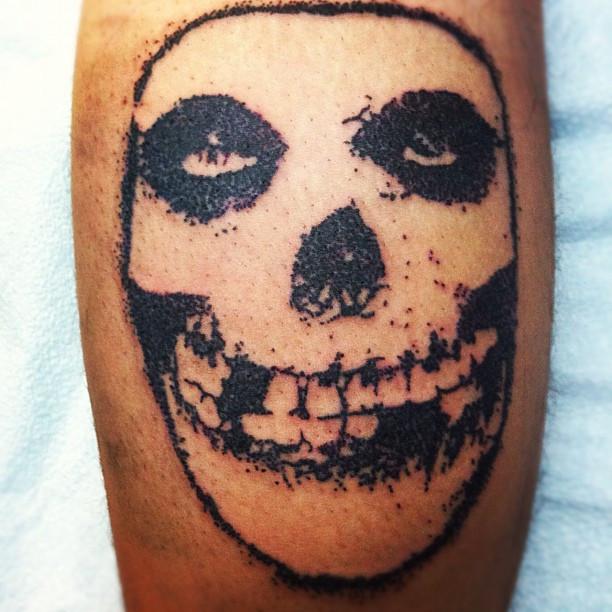 Crimson ghost tattoo outline