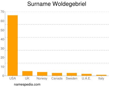 Surname Woldegebriel