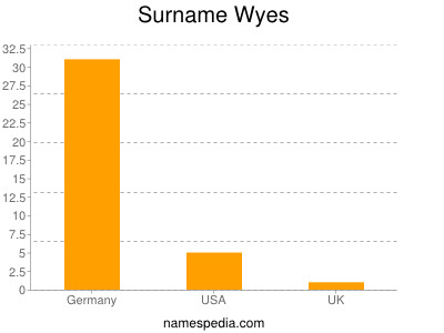 Surname Wyes