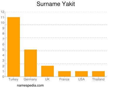 Surname Yakit