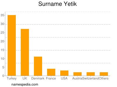 Surname Yetik
