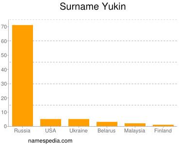 Surname Yukin