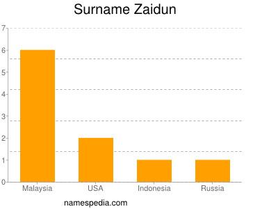 Surname Zaidun