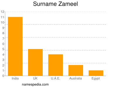 Familiennamen Zameel