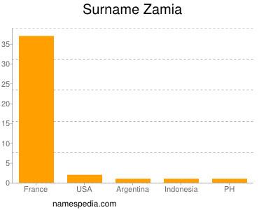 Surname Zamia