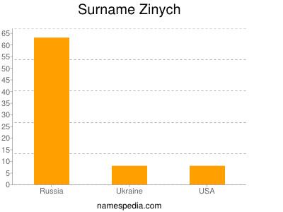 Surname Zinych