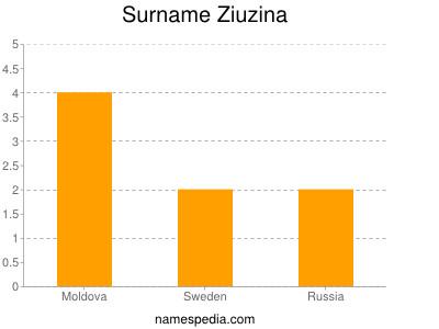 Surname Ziuzina