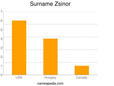 Surname Zsinor