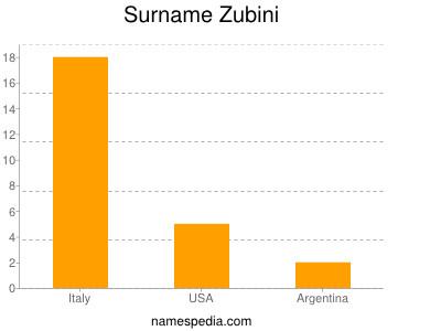 Surname Zubini