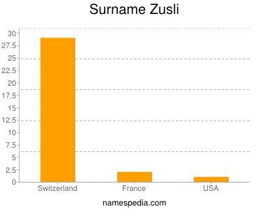 Surname Zusli