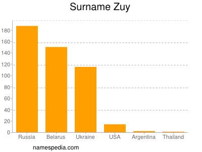 Surname Zuy