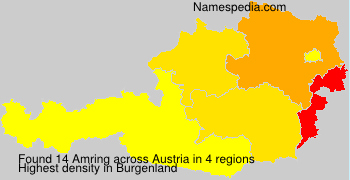 Surname Amring in Austria