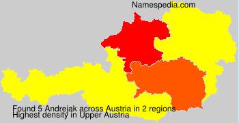 Surname Andrejak in Austria