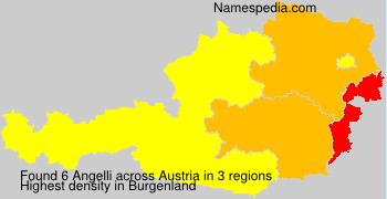 Familiennamen Angelli - Austria