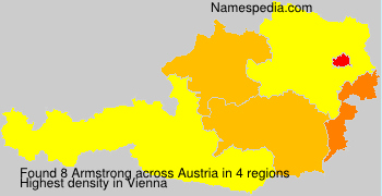 Surname Armstrong in Austria