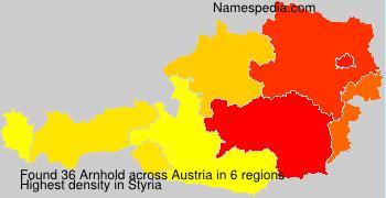 Surname Arnhold in Austria