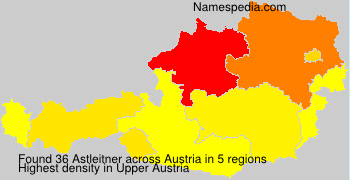 Surname Astleitner in Austria