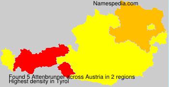Surname Attenbrunner in Austria