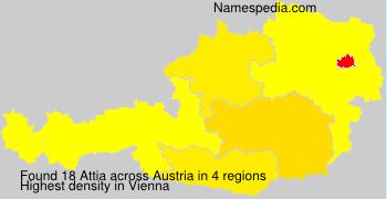 Surname Attia in Austria