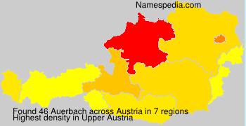 Surname Auerbach in Austria
