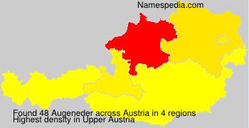 Surname Augeneder in Austria