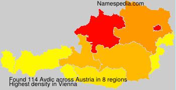 Surname Avdic in Austria