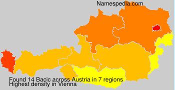 Familiennamen Bacic - Austria