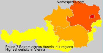 Surname Bajram in Austria